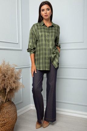 женская блузка sandyna, оливковая