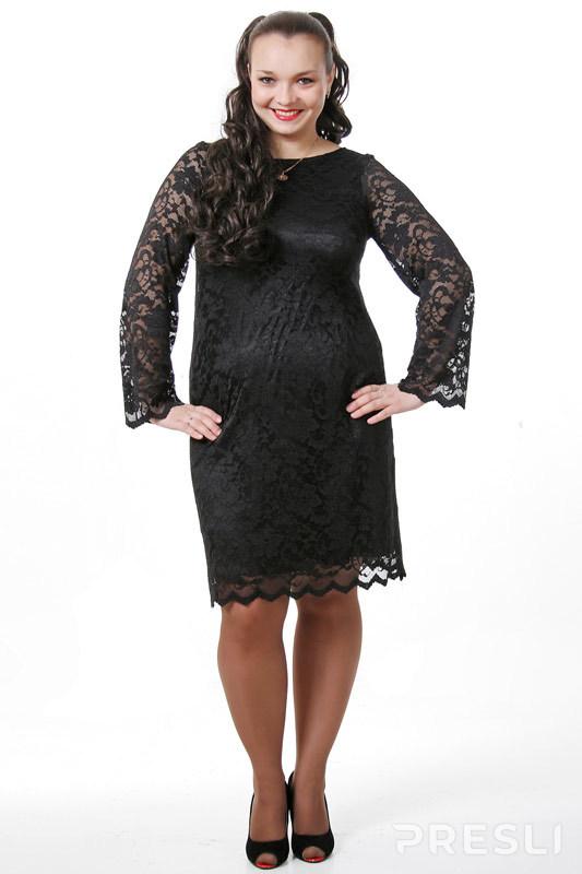 Платье Лакрес 51 б черный