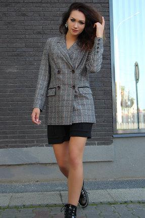 женский жакет juliet style, серый