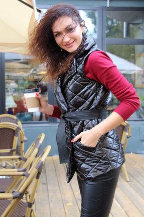 женский жилет juliet style, черный