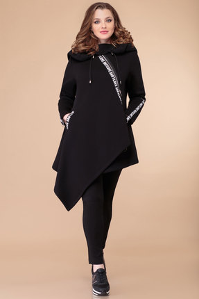 женская туника svetlana style, черная