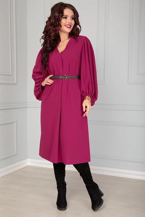 женское повседневные платье anastasia, фуксия