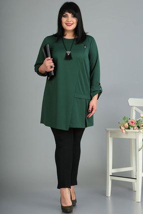 женская туника algranda, зеленая
