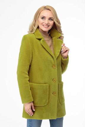 женское пальто белэльстиль, салатовое