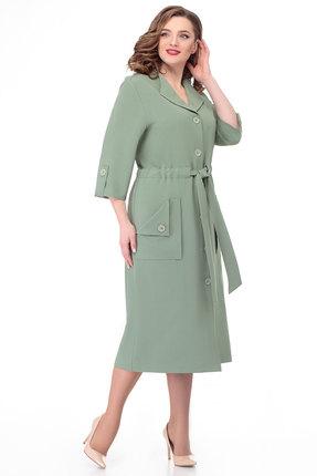 женское повседневные платье белэкспози, оливковое