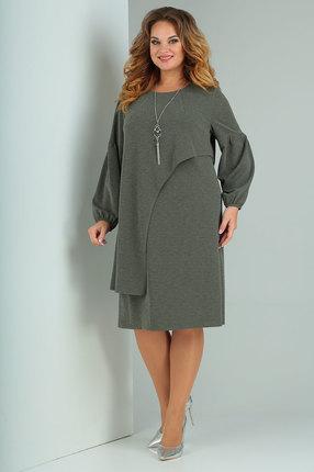 женское повседневные платье ollsy, оливковое