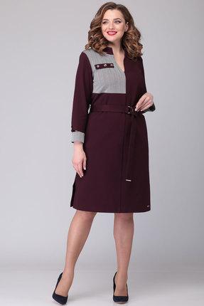 Платье Danaida 1929 бордо