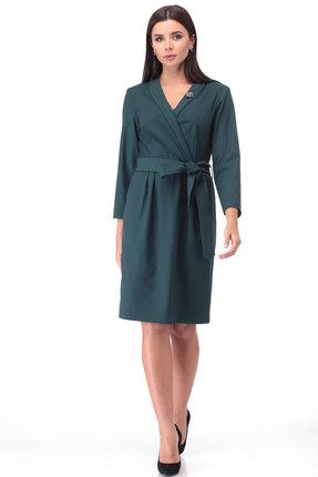 Платье Danaida 1937 зеленые тона