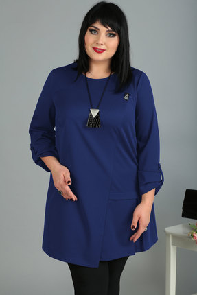женская туника algranda, синяя