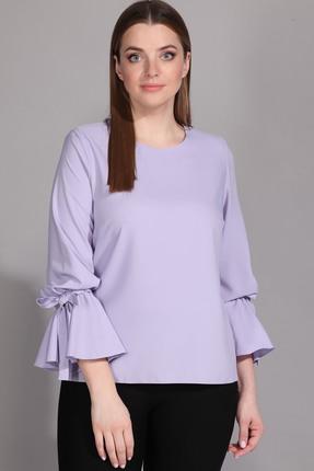 женская блузка la prima, лиловая