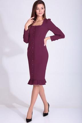 Платье Axxa 55160 Б фиолетовый