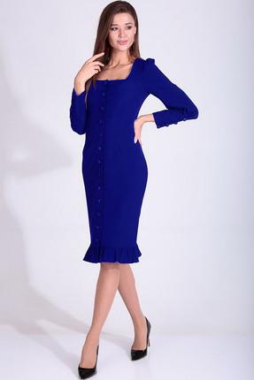Платье Axxa 55160 В синий