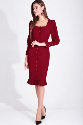Платье Axxa 55160 Е красный