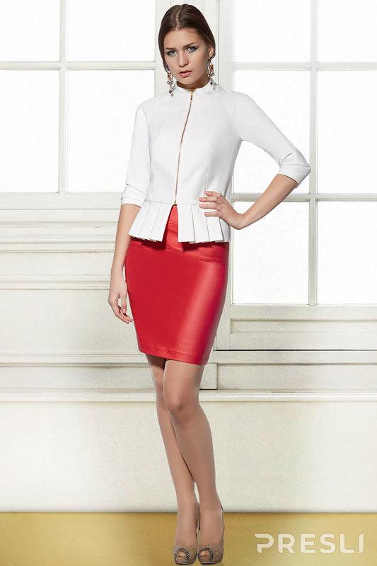 Комплект юбочный Vesnaletto 861к белый с красным