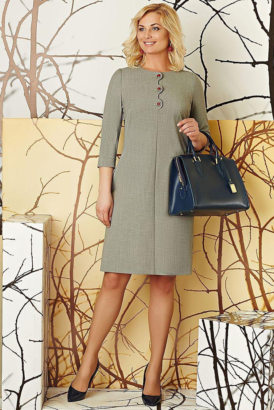 Платье Artribbon-Lenta 2433Р1001 серый