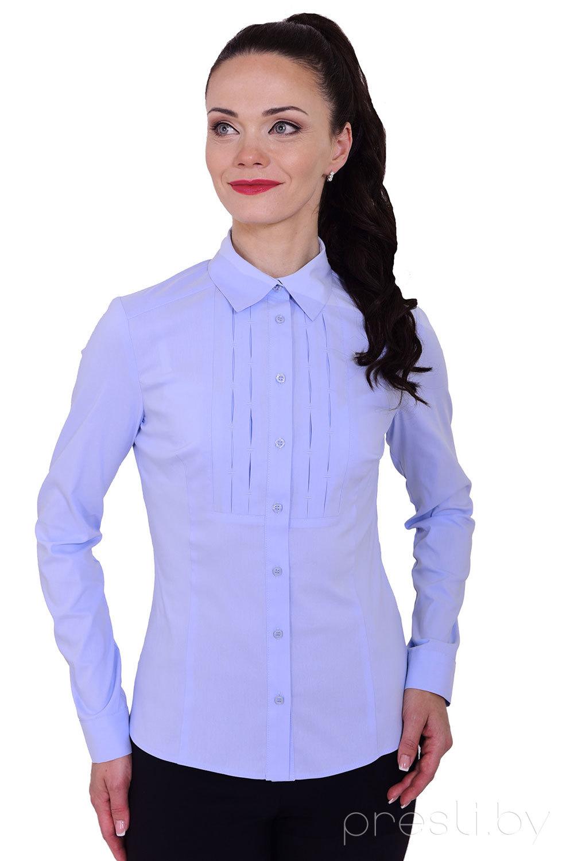 Блузка Blauz 2145 голубой