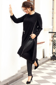 Комплект плательный Мода-Юрс 2631 черный