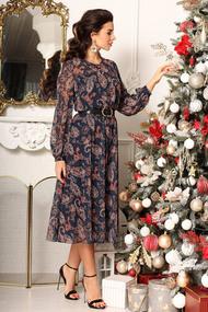 Платье Мода-Юрс 2567 синий