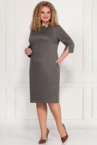 Платье БагираАнТа 642 серые тона