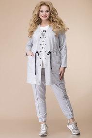 Спортивный костюм Romanovich style 3-2102 серые тона