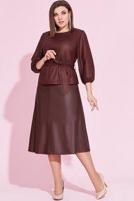 Комплект юбочный Милора-Стиль 849 бордо