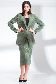 Комплект юбочный SandyNa 13902 яблочно-зеленый