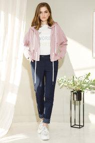 Куртка Gizart 7459р розовые тона