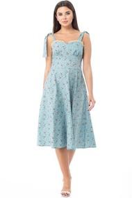 Платье Anelli 847 бирюза