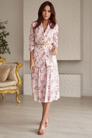 Комплект юбочный Vesnaletto 2603 розовый с цветным