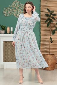 Платье Anastasia Mak 811 голубой