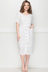 Платье LeNata 11204 белый