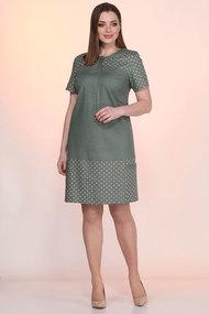 Платье Lady Style Classic 2035/5 хаки