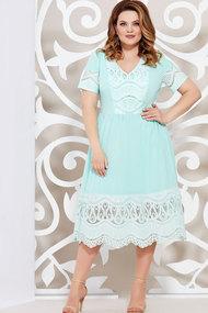 Платье Mira Fashion 4624.2 бирюзовый