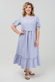 Платье Pretty 1981 голубые тона