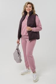 Спортивный костюм Pretty 1982 розовый+баклажан