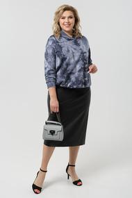 Комплект юбочный Pretty 1985 синий