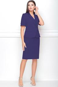 Комплект юбочный LeNata 31117 фиолетовые тона