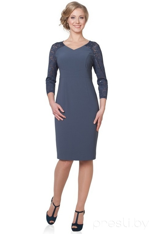 Платье Teffi style 1029 X графит
