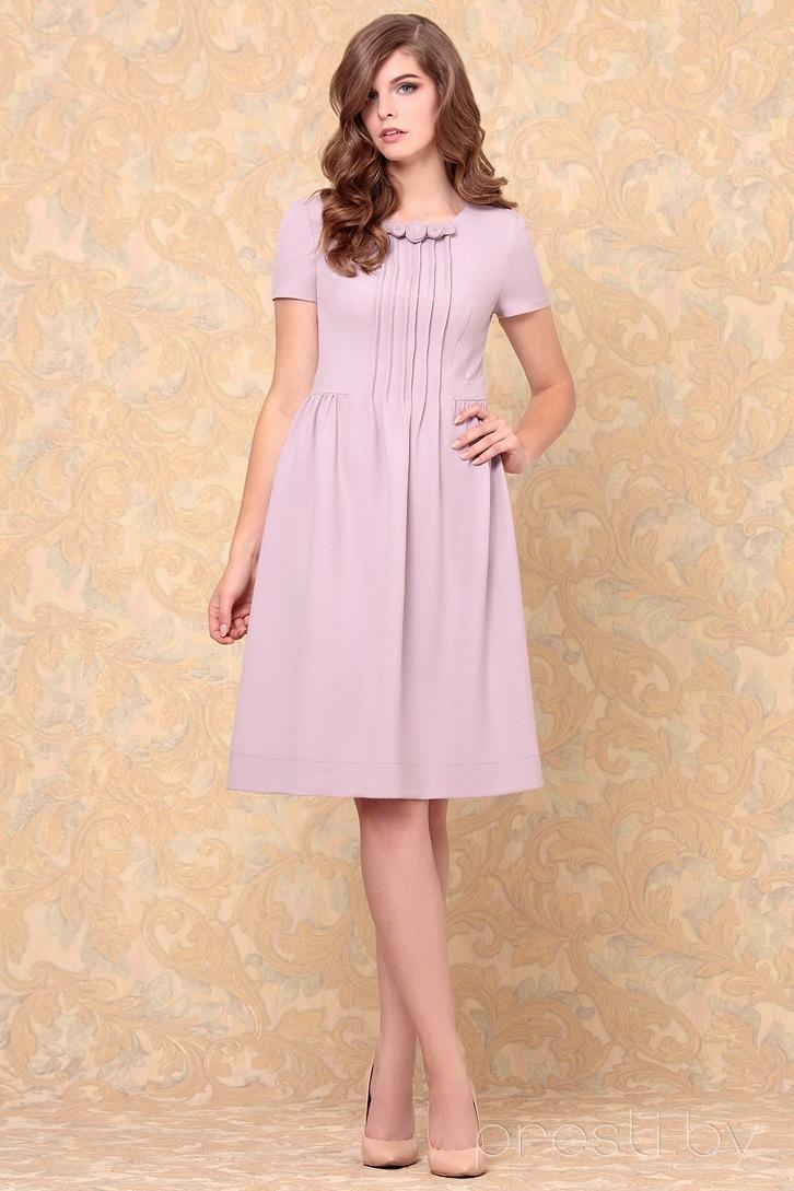 Платье Nika 4051 пудра