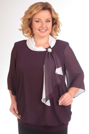 Блузка Pretty 380 фиолетовый