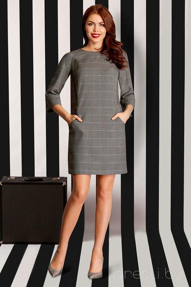 Платье ЛЮШе 1159 серый