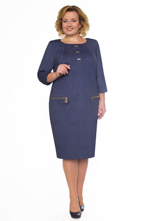 Платье Bonna Image 15-147 синий