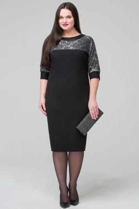 Купить со скидкой Платье Matini 3947 черный с золотом