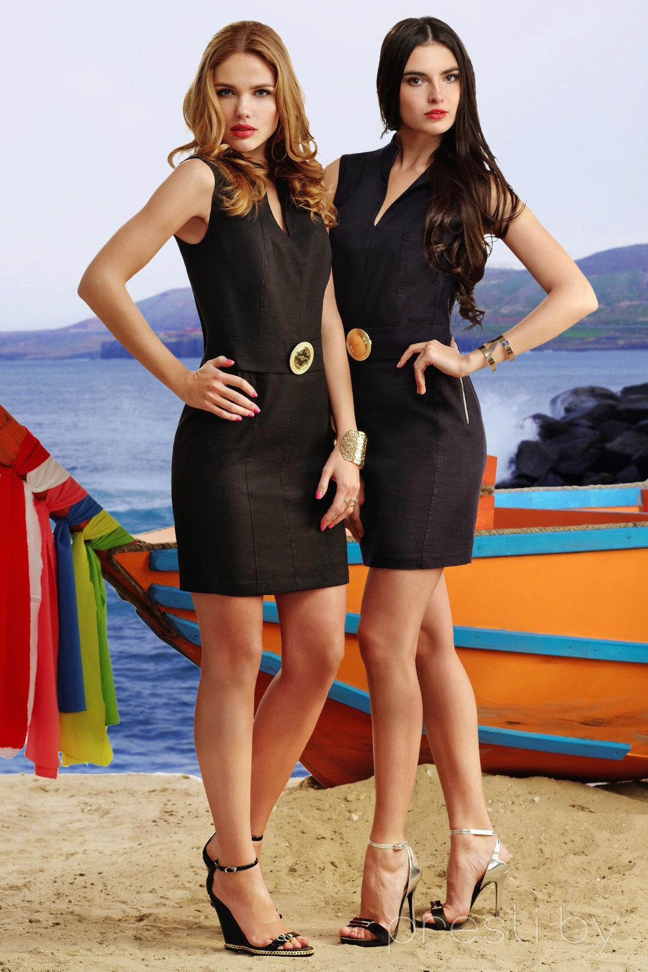 Платье Vesnaletto 1104 черный