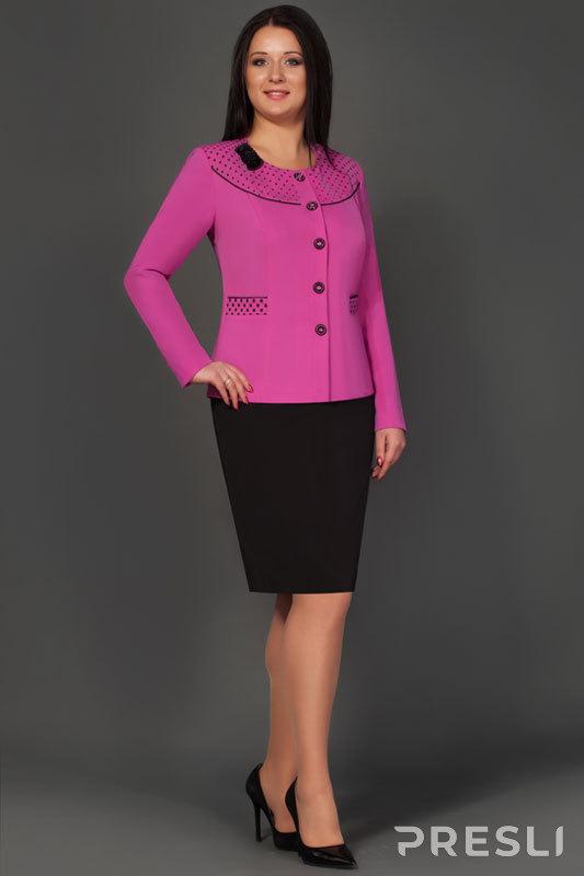 Комплект юбочный Lissana 2120 розовый + черный
