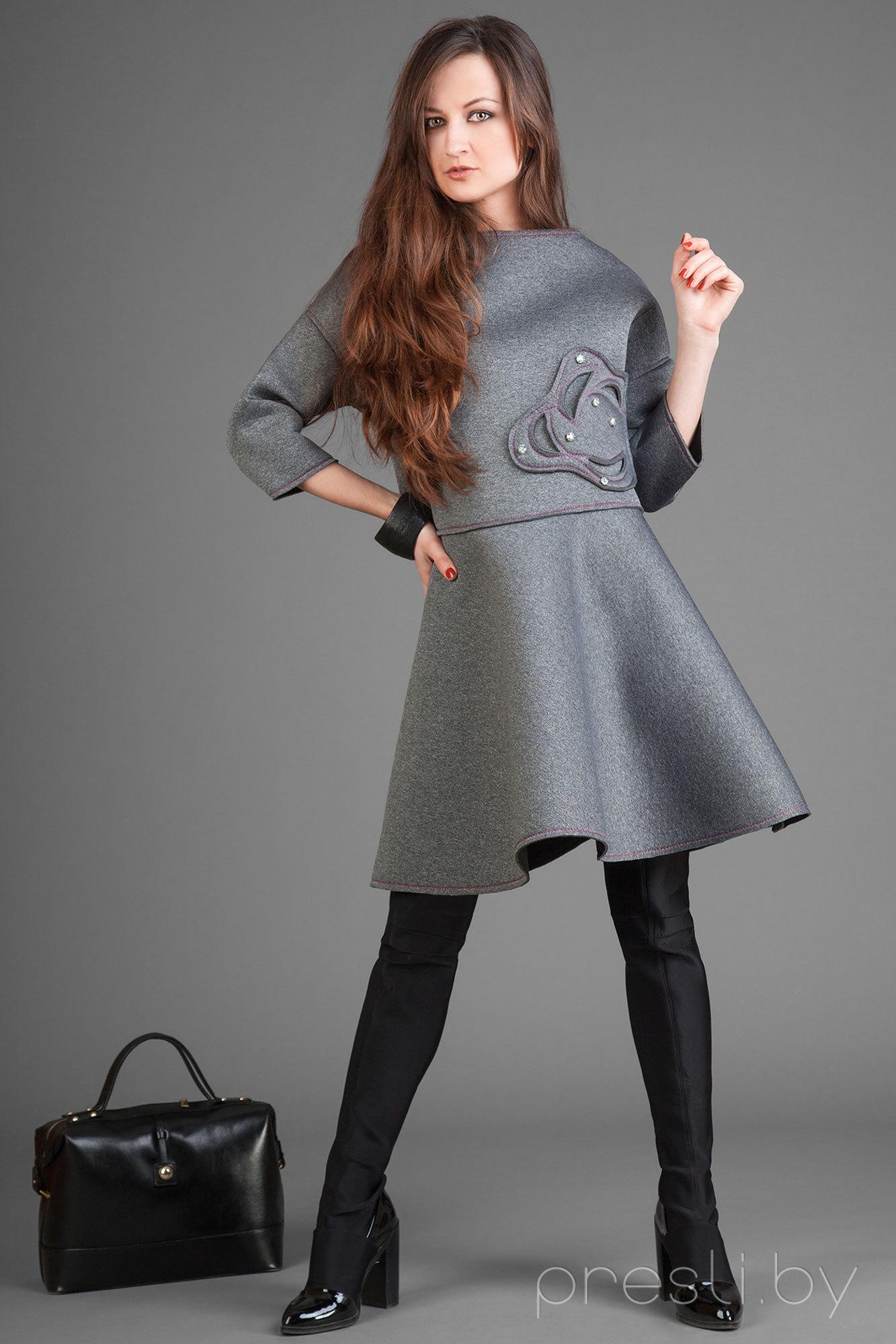 Комплект юбочный Elpaiz 135 серый