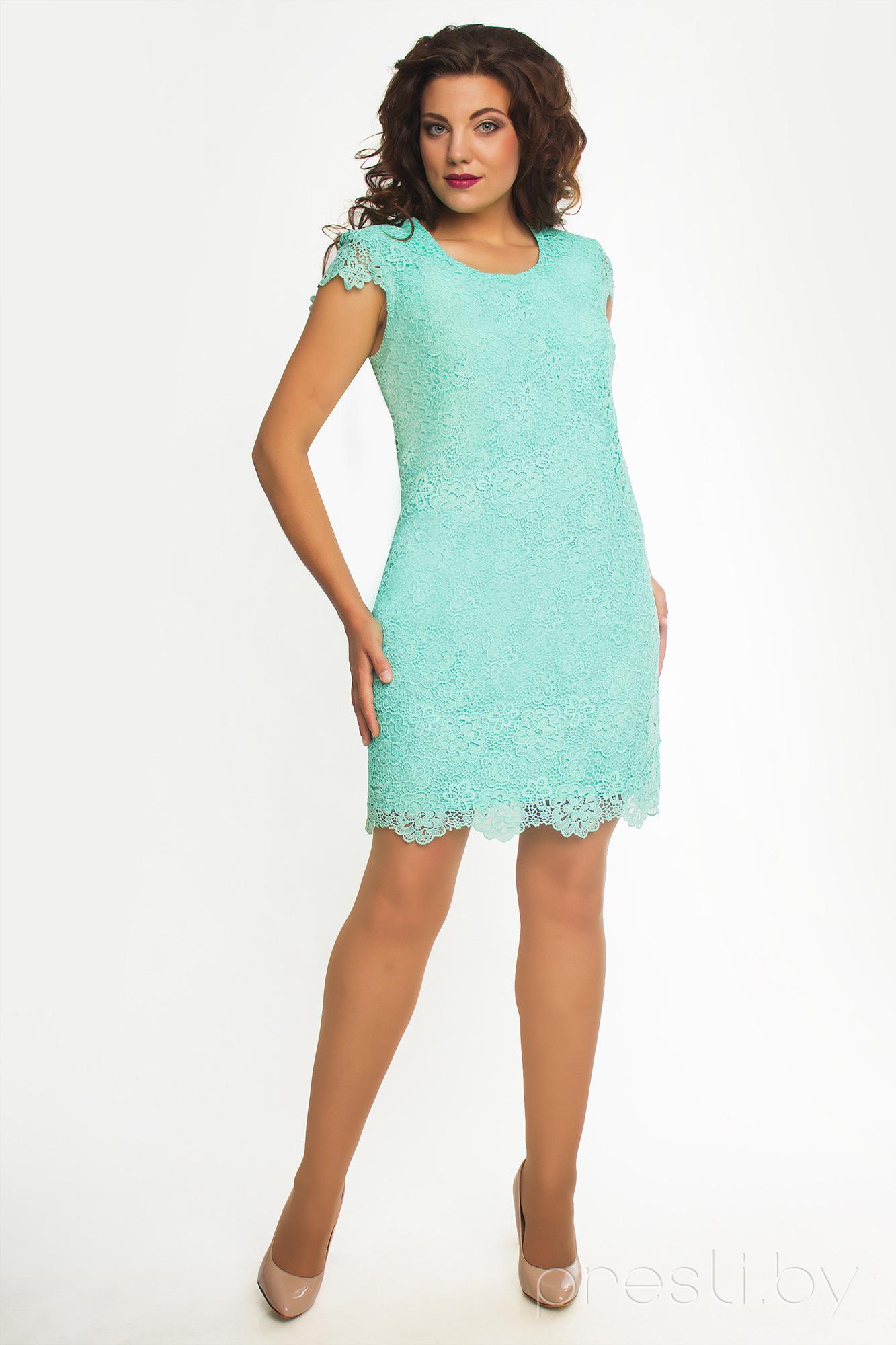 Платье ТАиЕР 455 мята