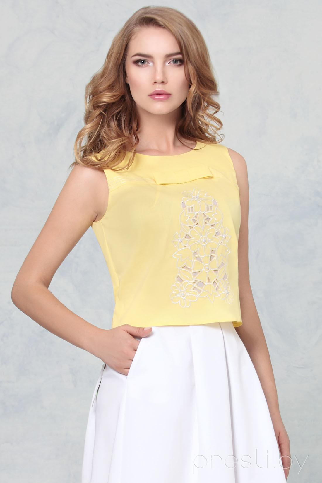 Блузка Nika 31602 желтые тона