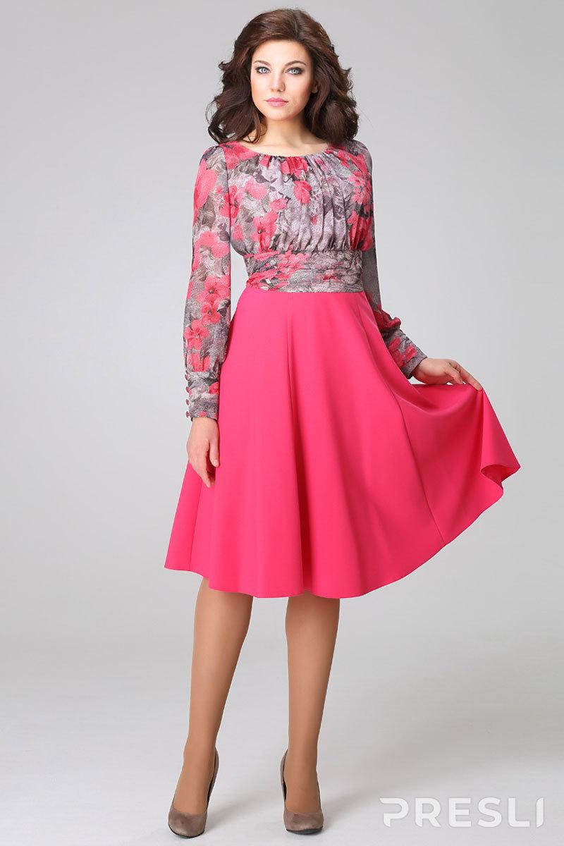 Платье Teffi style 974 малина