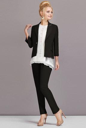 Комплект брючный Lady Secret 2393 черный с белым